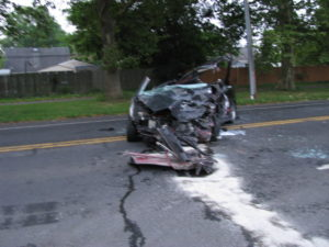 Assist 25 PD early morning accident